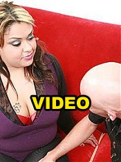 Horny and sultry fatty Tasha Starzz gets wild and gives an stud a ride in her fat and juicy slit