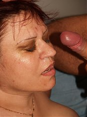 Hot mature plumper Marta hooks up with a fuckbuddy and got herself gooed and screwed after a blowjob
